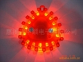 triangle led road flare traffic warning lights emergency light