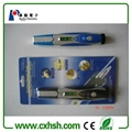 6 in 1 multi screwdriver with light and gradienter