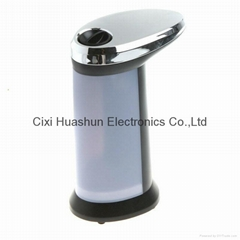 400ML stainless steel automatic liquid soap pump with motion sensor