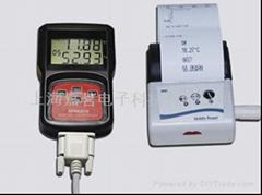 倉儲運輸專用帶打印機溫度記錄儀