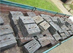 DF118 BBD4060 Coal Mill Liners