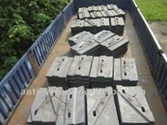 DF131 BTMCr26 Coal Mill Liners