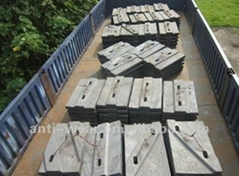 DF129 BBD4060 Coal Mill Shell Liners