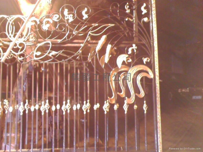 铁闸(带开门器)