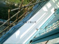 external wall spalling work