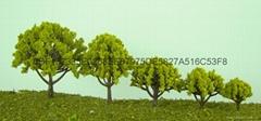 学生玩具模型树铁丝花树