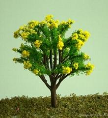 建筑模型塑胶树