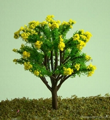 建築模型塑膠樹