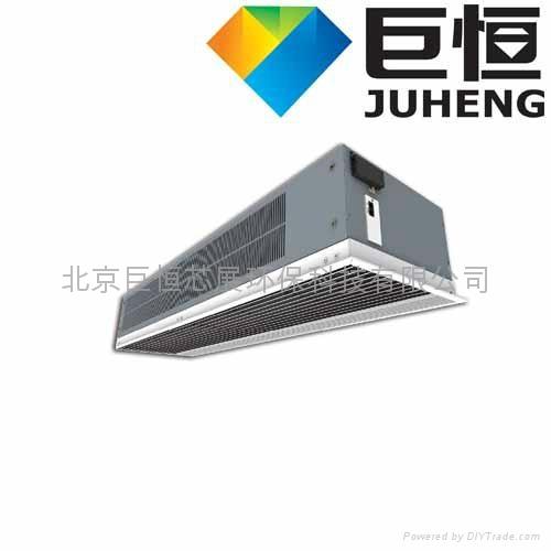 暗装式离心电热冷暖风幕机 1