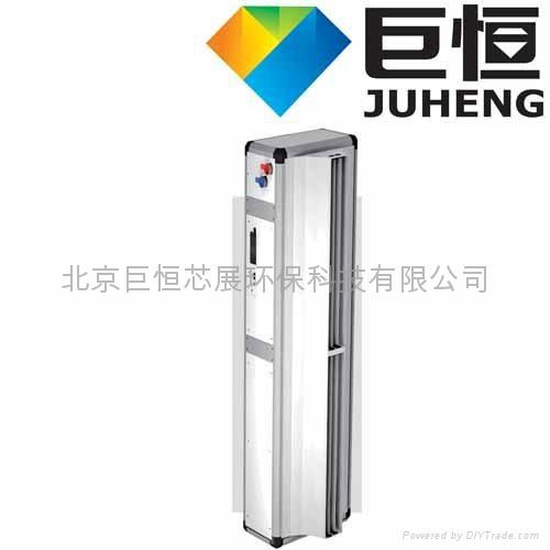 立式侧吹离心电热冷暖风幕机 4