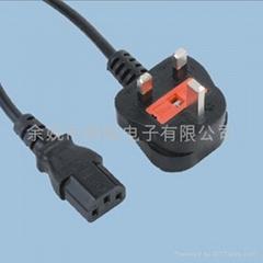 BS认证电源线插头