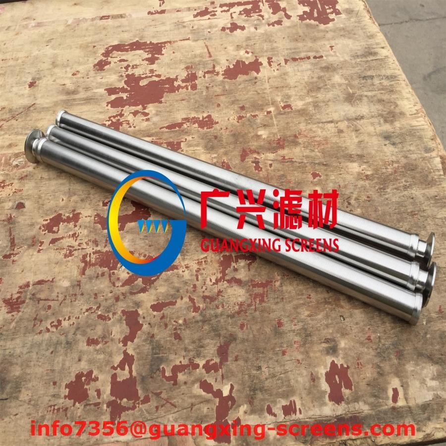 燭式過濾器不鏽鋼316L楔形濾芯繞絲管 4