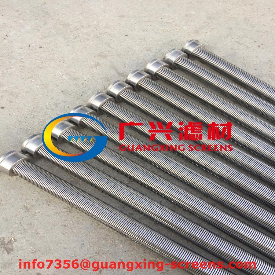 燭式過濾器不鏽鋼316L楔形濾芯繞絲管 5