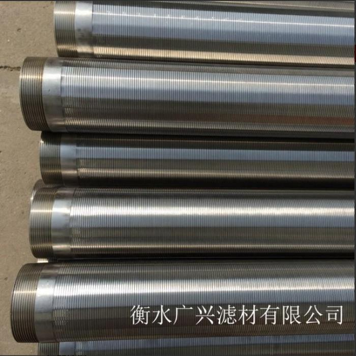 horizontal well drilling Johnson wedge wire screen tube  1
