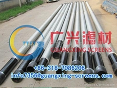 geothermal drilling well filter pipe