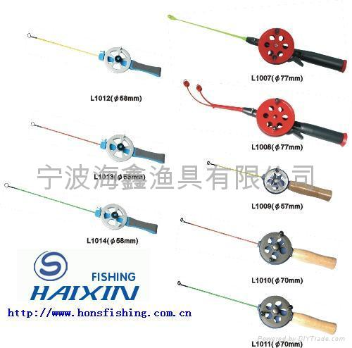 Ice fishing rods fishing tackle l1007 1014 jons china for Ice fishing rigs