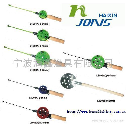 Ice fishing rods fishing tackle l1007 1014 jons china for Ice fishing supplies wholesale