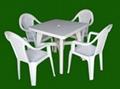 大排檔專用塑料桌椅 2