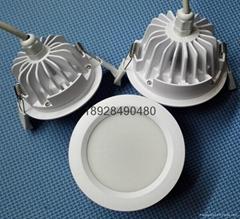 私模LED防水筒灯外壳套件