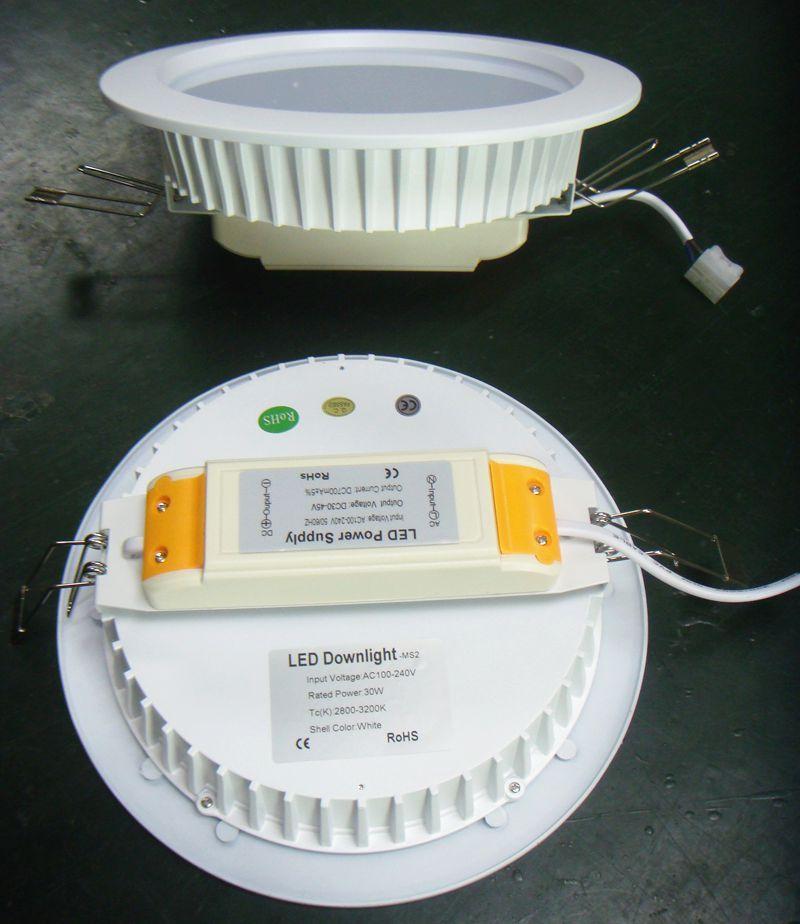 8寸LED筒灯外壳厂家直销 3