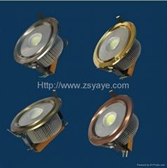 YAYE Hot Sell 1W-36W COB 10W 18W 20W 30W LED Downlight Ceiling Lights Down Lamp