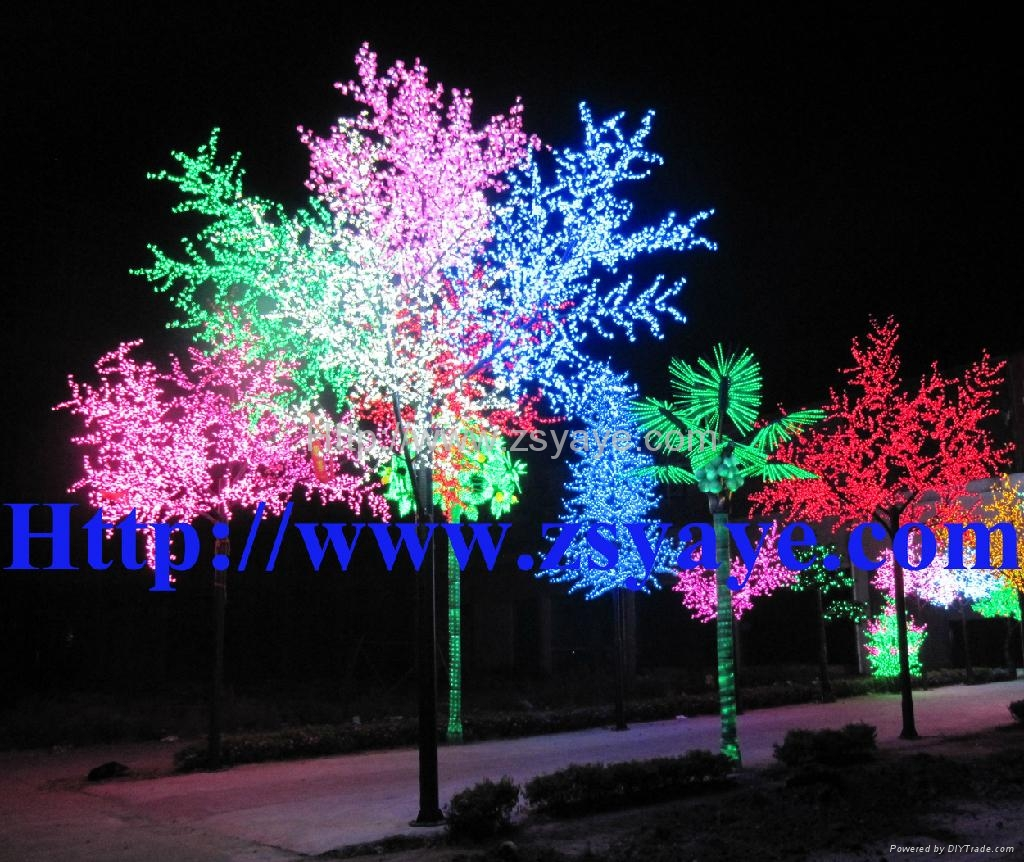 Yaye Hot Sell Ce Amp Rohs Led Cherry Blossom Tree Light Led