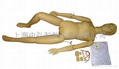 新型多功能護理人訓練模型,普通護理示教模型