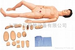 全功能女性護理人訓練模型,男女性護理示教模型