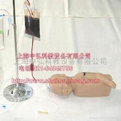 嬰儿頭部及手臂靜脈注射穿刺模型