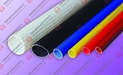 self-extinguish fiberglass sleeving with