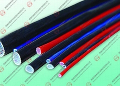Fiberglass Sleeving for Carbon Brush
