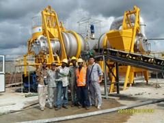 hot asphalt mixer (QLB-60)