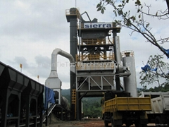80tph Stationary batch plant LB1000