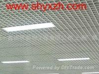 上海铝格栅吊顶装修材料