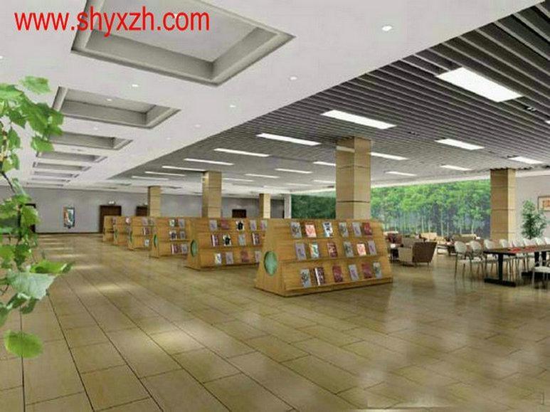 专业商场店面超市轻钢龙骨吊顶隔墙 1