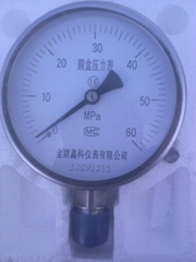 膜盒压力表压力计
