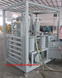 Double-stage vacuum Transformer oil purifier/ oil filtration/ oil purification