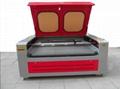 HQ1610 CO2 Laser Engraving Cutting Machine W/Auto roll feeding Rolled Fabrics