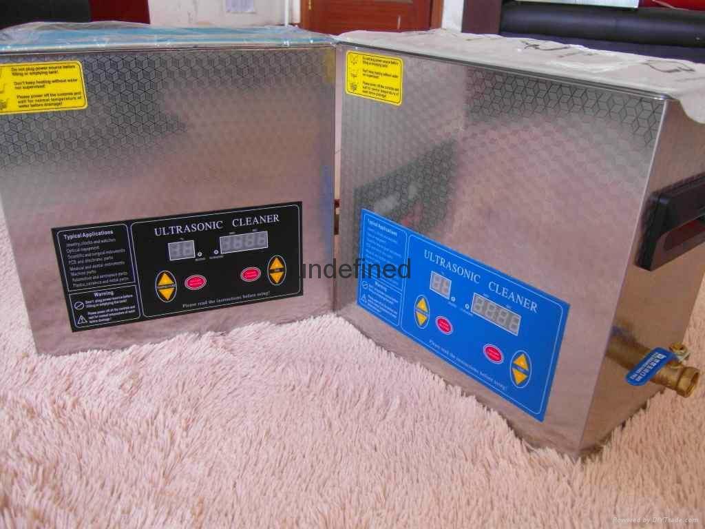 Multiple Liter Stainless Steel Ultrasonic Cleaner