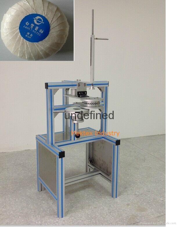 Manual Round Sop Pleated Wrapping Machine (MEK-490)