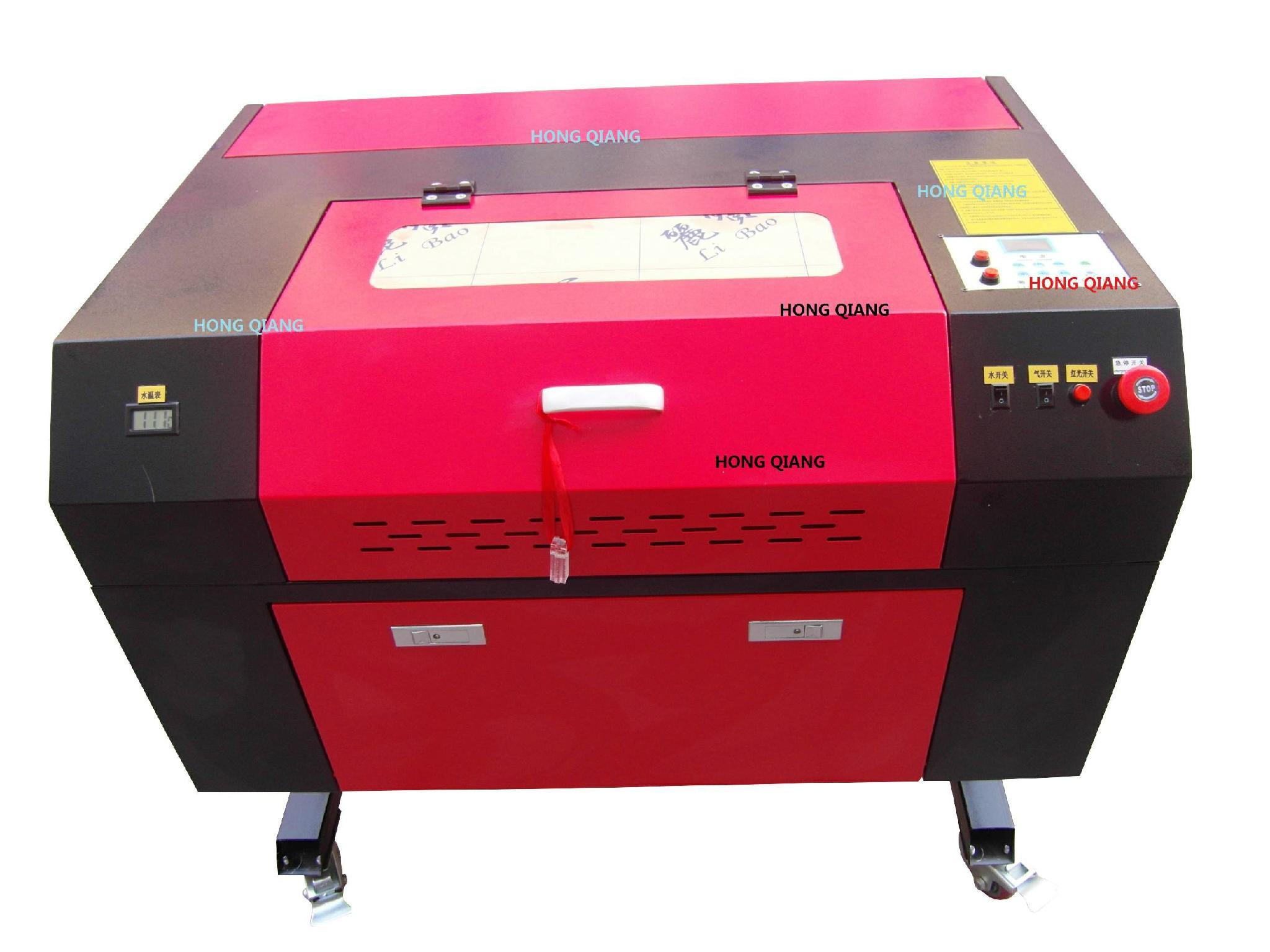 HQ4060B CO2 Laser Engraving Cutting Machine Laser Engraver Cutter Acrylic Wood