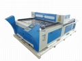 CO2 MDF Wood board Stainless steel Laser cutting machine/HQ1325M