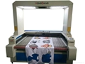 CO2 Vision Laser cutter w/digital camera sublimation fabric/HQ1810V