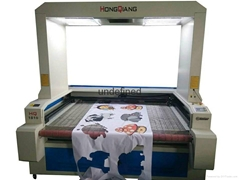 CO2 Vision Laser cutter w/digital camera sublimation fabric/HQ1810V