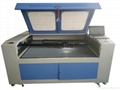 CCD Vision Laser Cutting Machine W/Digital Camera Printed fabrics/HQ1610VS