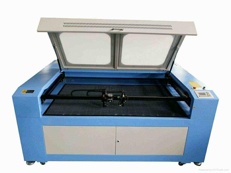 HQ1210 CO2 Laser Engraving Cutting Machine Laser Engraver/dual Laser Heads
