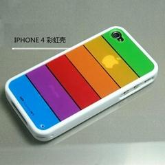 彩虹壳系列iphone4 保护壳
