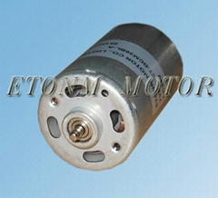 long lifetime high speed low torque dc motor with dia 32mm for electric fan