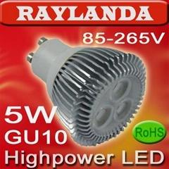 LED spotlight bulb(RL-GU10WW5)