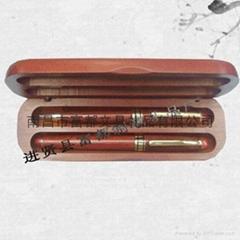 红木笔2件套装礼品
